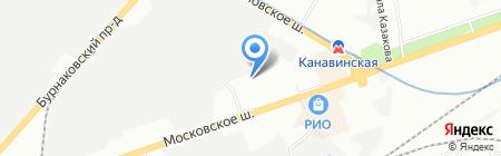 ИТЛ-ЭКСПРЕСС на карте Нижнего Новгорода