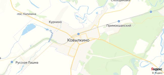 Ковылкино - объекты на карте