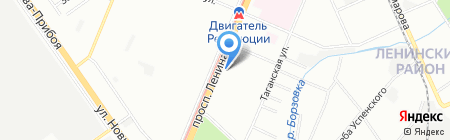 Студия Туризма на Ленина на карте Нижнего Новгорода
