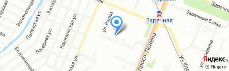 Детский сад №436 на карте Нижнего Новгорода