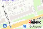 Схема проезда до компании АльянсТракс в Нижнем Новгороде