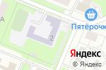 Схема проезда до компании Средняя общеобразовательная школа №100 с углубленным изучением отдельных предметов в Нижнем Новгороде