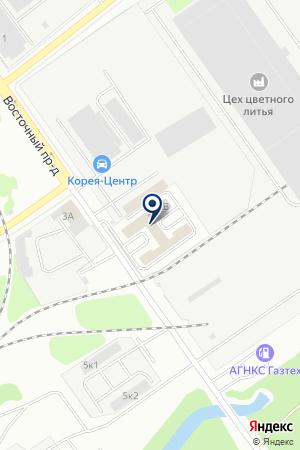 ТРАНСПОРТНО-ЭКСПЕДИТОРСКАЯ ФИРМА АВТОГАРАНТ на карте Нижнего Новгорода