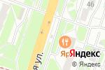 Схема проезда до компании Альбина в Нижнем Новгороде