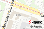Схема проезда до компании РОМСАН в Нижнем Новгороде