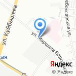 Завод Смартэко на карте Нижнего Новгорода