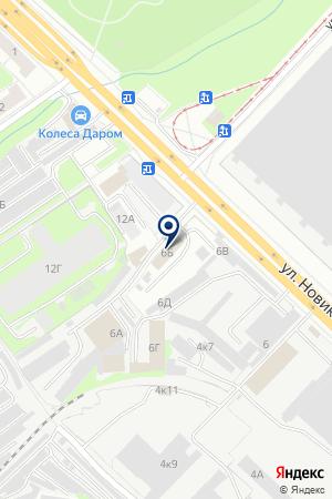 Автоклассик на карте Нижнего Новгорода