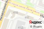 Схема проезда до компании Реал Авто в Нижнем Новгороде