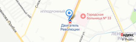 Аркис на карте Нижнего Новгорода