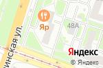 Схема проезда до компании Русская кухня в Нижнем Новгороде