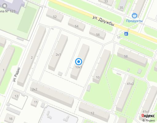 Управляющая компания «ГУК» на карте Нижнего Новгорода