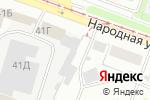 Схема проезда до компании ПрофЭлит в Нижнем Новгороде