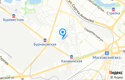 Местоположение на карте пункта техосмотра по адресу г Нижний Новгород, ул Маршала Воронова, д 18А