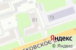 Схема проезда до компании Поликлиника в Нижнем Новгороде