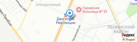 Кредо на карте Нижнего Новгорода