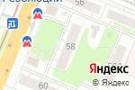 Схема проезда до компании Кредо в Нижнем Новгороде