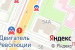 Схема проезда до компании UltraTarget в Нижнем Новгороде