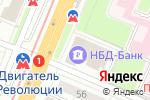Схема проезда до компании МСТ-РУС в Нижнем Новгороде