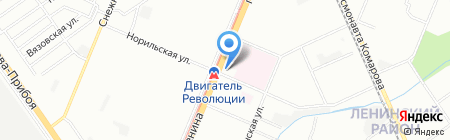 АБСклимат на карте Нижнего Новгорода