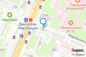 Трехкомнатная квартира в Нижнем Новгороде м. Двигатель Революции, проспект Ленина, 56