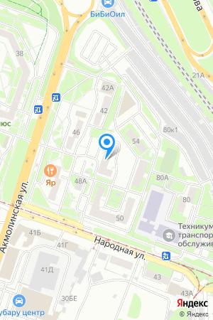 Дом 52 по ул. Народная на Яндекс.Картах