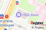 Схема проезда до компании Консилиум в Нижнем Новгороде