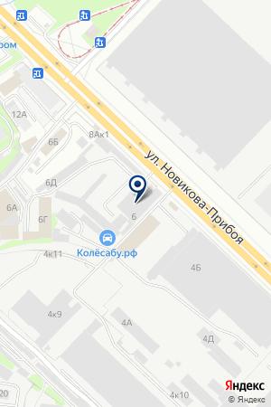 ОПТОВЫЙ СКЛАД АВТОЛЮКС на карте Нижнего Новгорода