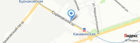 Аvtoslava.ru на карте Нижнего Новгорода