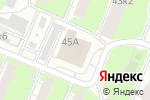 Схема проезда до компании Первый обойный в Нижнем Новгороде