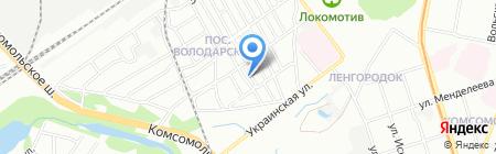Артемовский на карте Нижнего Новгорода