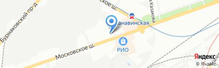 Коррекционная общеобразовательная школа-интернат IV вида для слабовидящих детей №2 на карте Нижнего Новгорода