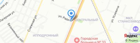 Русские пельмени на карте Нижнего Новгорода