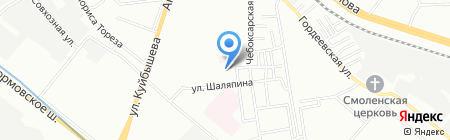 Детский сад №16\/59 на карте Нижнего Новгорода