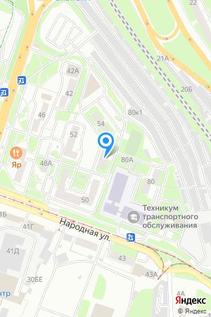Дом 56 по ул. Народная, ЖК 3D Народная на Яндекс.Картах