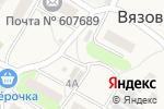 Схема проезда до компании Продуктовый магазин на ул. Специалистов в Вязовке