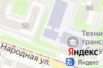 Схема проезда до компании Нижегородский техникум транспортного обслуживания и сервиса в Нижнем Новгороде