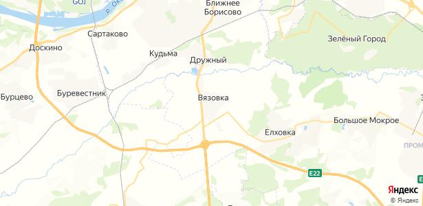Вязовка на карте