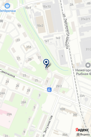 КАФЕ ОСТРОВОК на карте Нижнего Новгорода
