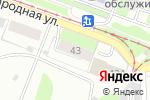 Схема проезда до компании РАЗБОРНН в Нижнем Новгороде