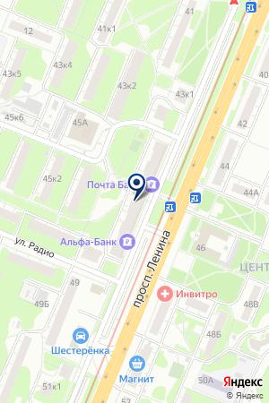 МАГАЗИН СПОРТТОВАРОВ КРОК на карте Нижнего Новгорода