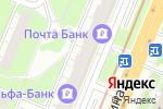 Схема проезда до компании Sadi в Нижнем Новгороде