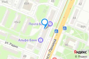 Двухкомнатная квартира в Нижнем Новгороде пр-т Ленина, 45