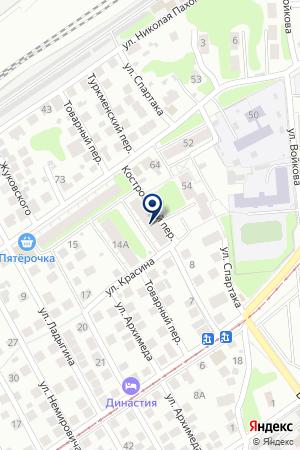 АПТЕКА КАНАВИНСКОГО РАЙОНА № 8 на карте Нижнего Новгорода