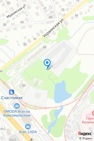 ЖК Первомайский, Украинская ул. у домов 27 и 35, 4 (по генплану) на Яндекс.Картах
