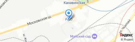 Крит на карте Нижнего Новгорода