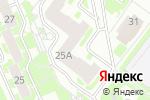 Схема проезда до компании Беролина в Нижнем Новгороде