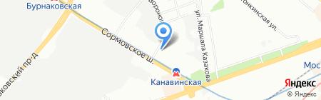 Оптово-розничный магазин оснастки для электроинструмента и бензотехники на карте Нижнего Новгорода