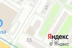 Схема проезда до компании Amplua в Нижнем Новгороде