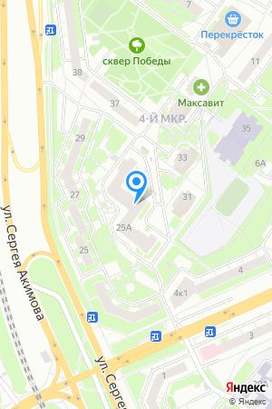 Дом 25А (секции 3,4,5) по ул. Акимова на Яндекс.Картах
