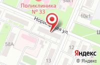 Схема проезда до компании Абс в Нижнем Новгороде